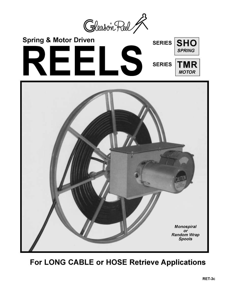 GleasonDirect.com: Cable Management: Engineered Products: Cable Reels